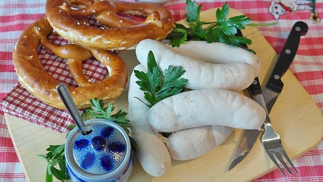 Weisswurstfrühstück auf dem Stuttgarter Fernsehturm